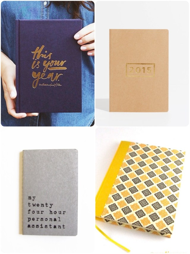 Indie planners from Etsy