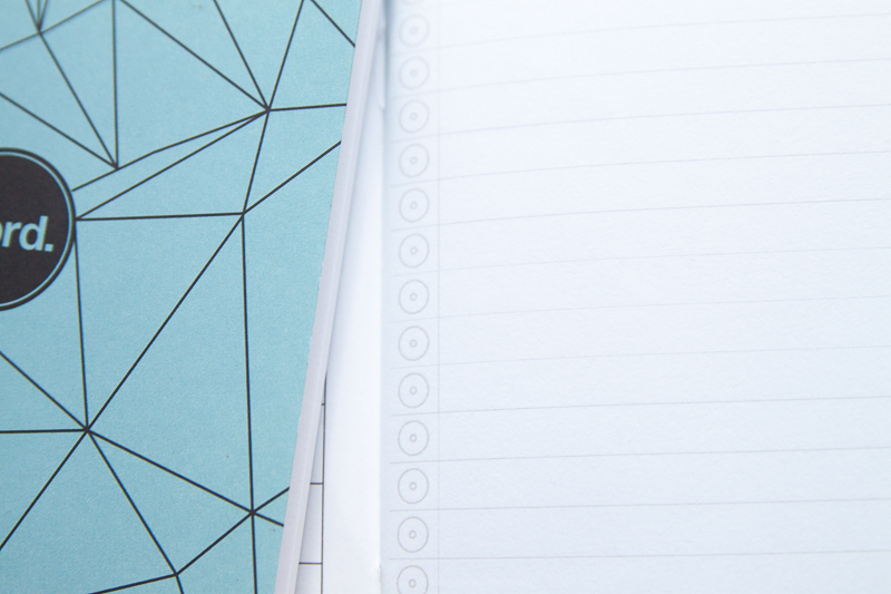 Word. Notebooks polygon paper