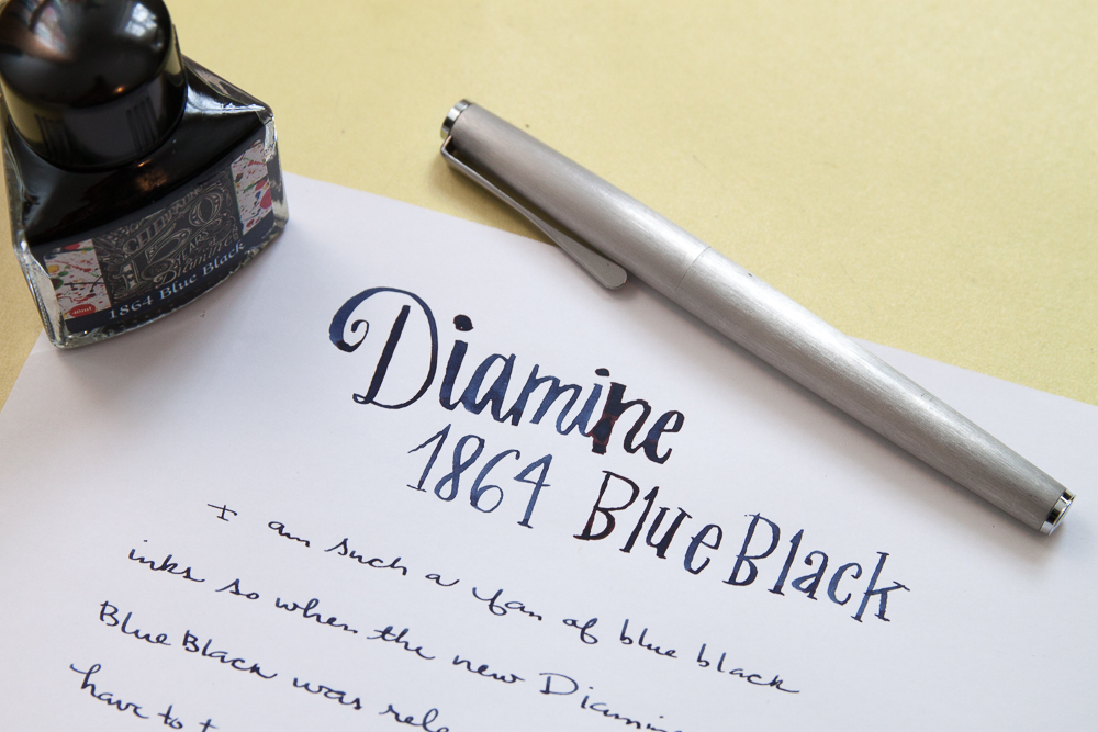 daimine 1864 blue-black ink