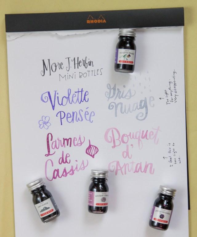 J. Herbin Mini Ink Bottles