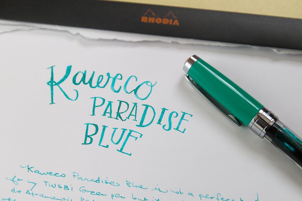 Kaweco Paradise Blue ink