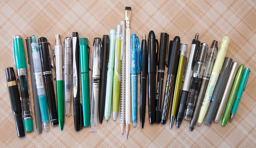 review pens