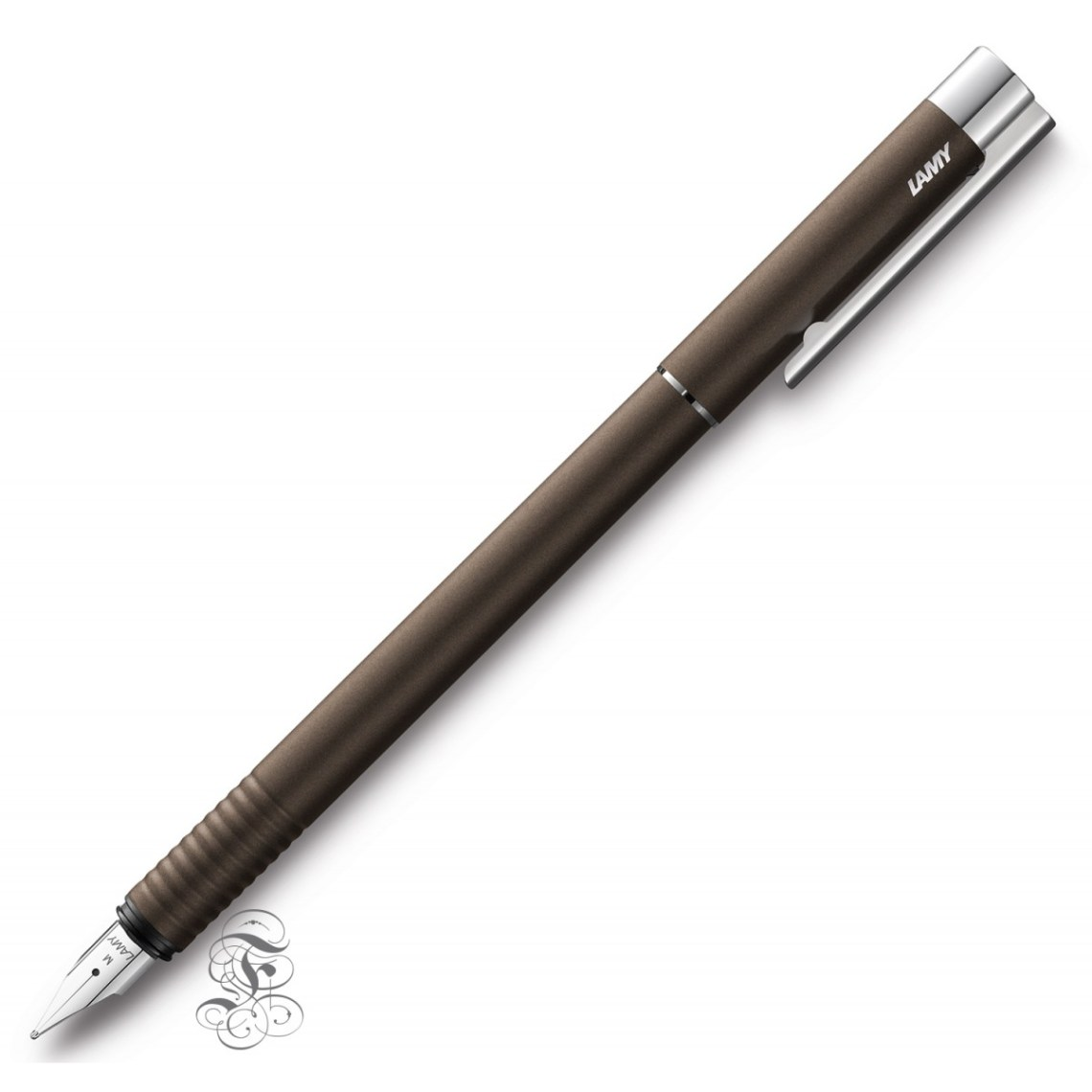 lamy-logo-fountain-pen-nut-brown