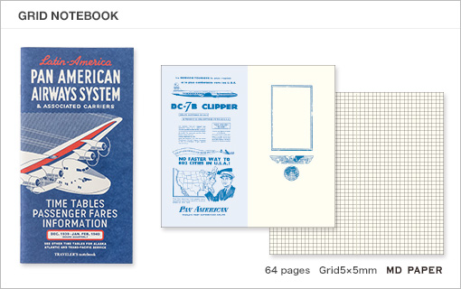 MTN Pan Am Edition Grid Notebook