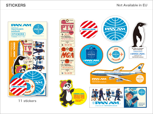 MTN Pan Am Edition Stickers