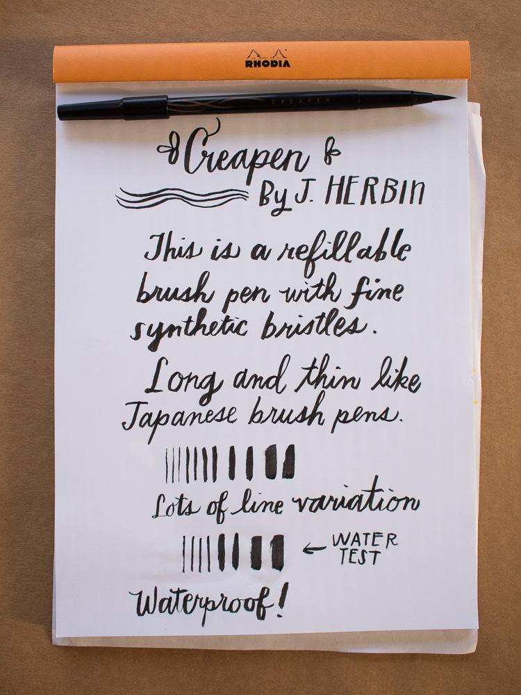 J. Herbin Creapen Brush Pen