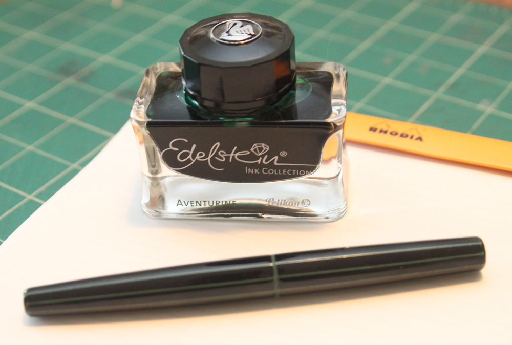 Nakaya Decapod Cigar Ao-tamenuri Fountain Pen