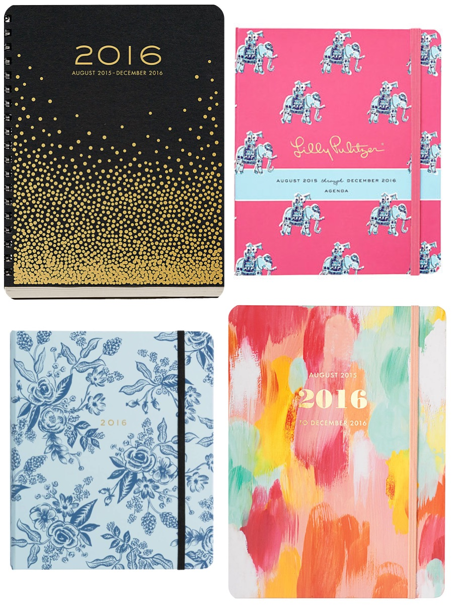 2016 sprial bound planners