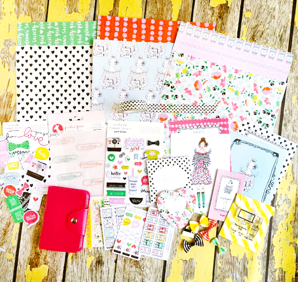 Planner Society Kit Club from Scarlet Lime