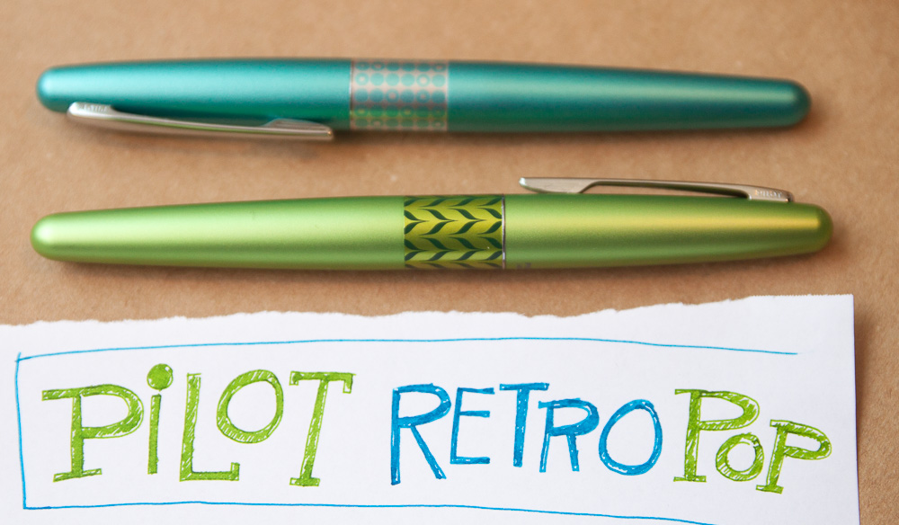 Pilot Metropolitan Reto Pop Fountain Pens