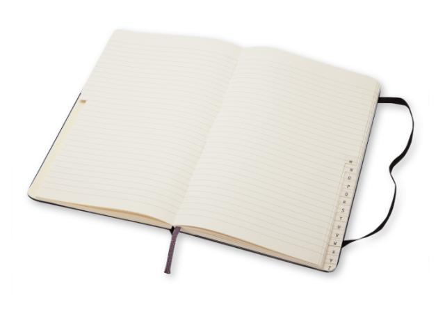Moleskine address book