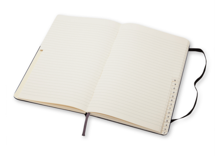 Moleskine address book