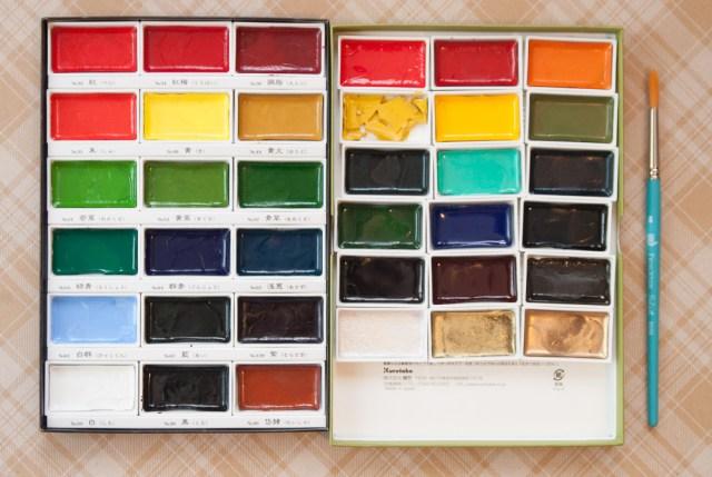 Kuretake Gansai Tambi Watercolor 36-colors