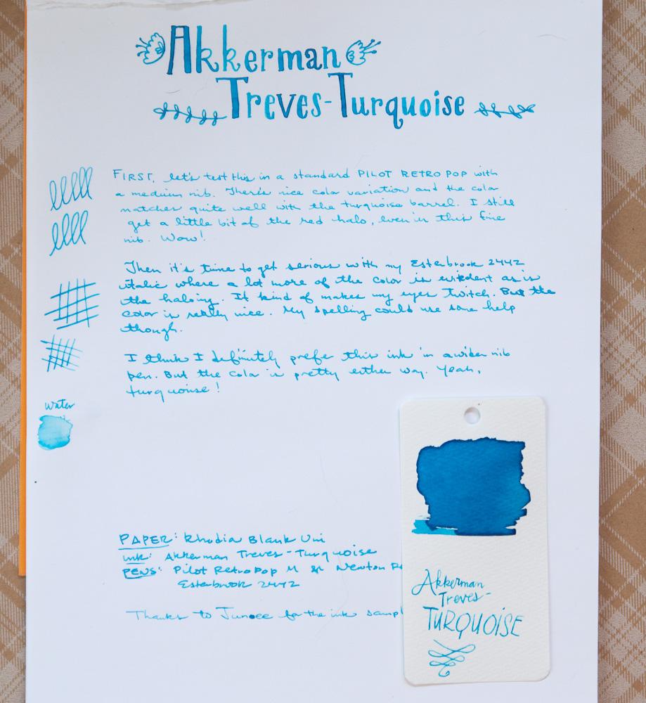 Akkerman Treves Turquoise