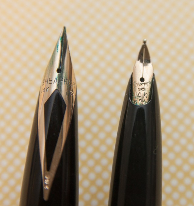 Sheaffer Lady Skripsert & Imperial Nibs