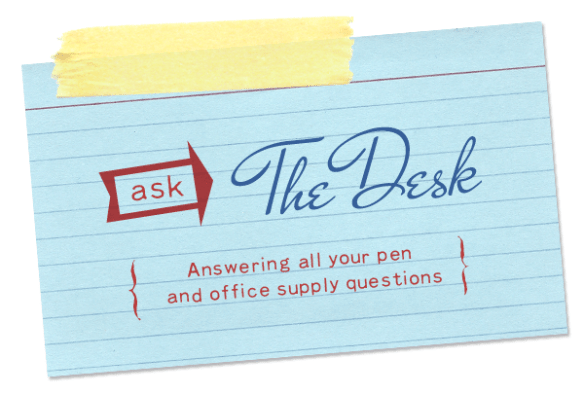 Ask The Desk: Planner for Medical Editor, Waterproof inks and Cross Porous Point Pen Options