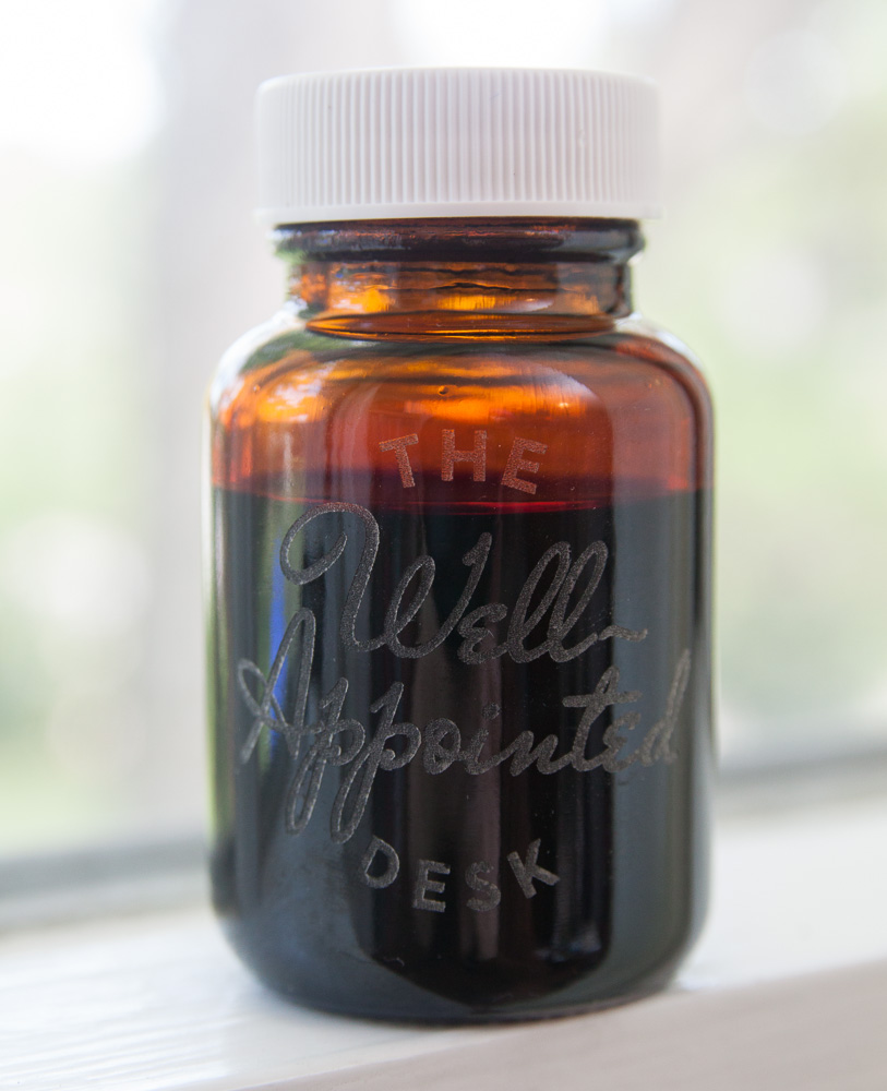 Callifolio Andrinople Ink Etched Bottle