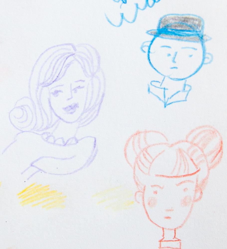 Prismacolor Col-Erase Pencil Sketch