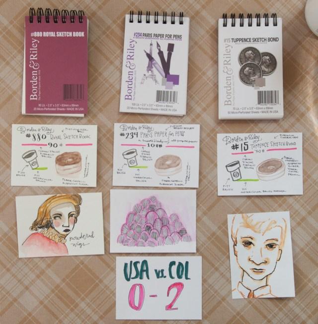 Borden & Riley Mini Sketchbook Pads