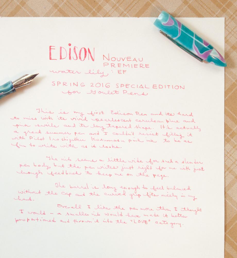 Edison Nouveau Premiere Water Lily Spring 2016