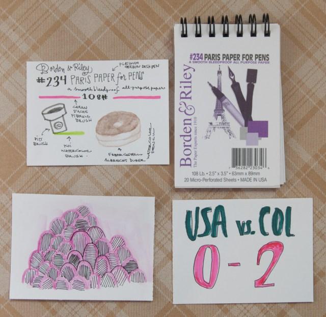 Borden & Riley Paper For Pens