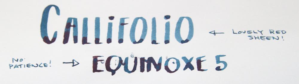 Callifolio Equinoxe 5