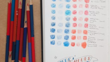 more about red and blue pencils the well appointed desk