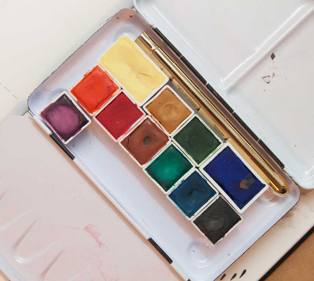 Pfeiffer Watercolor Pan Paints
