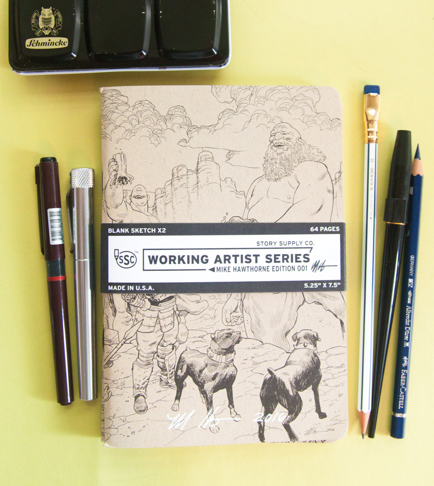 Story Supply Co. Working Artist Series Mike Hawthorne