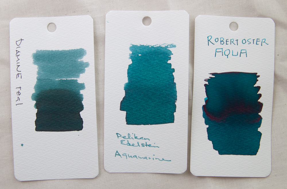 oster aqua ink color comparison 2