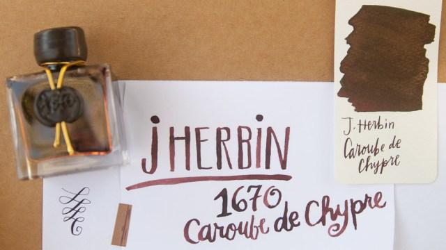 J. Herbin 1670 Caroube de Chypre header