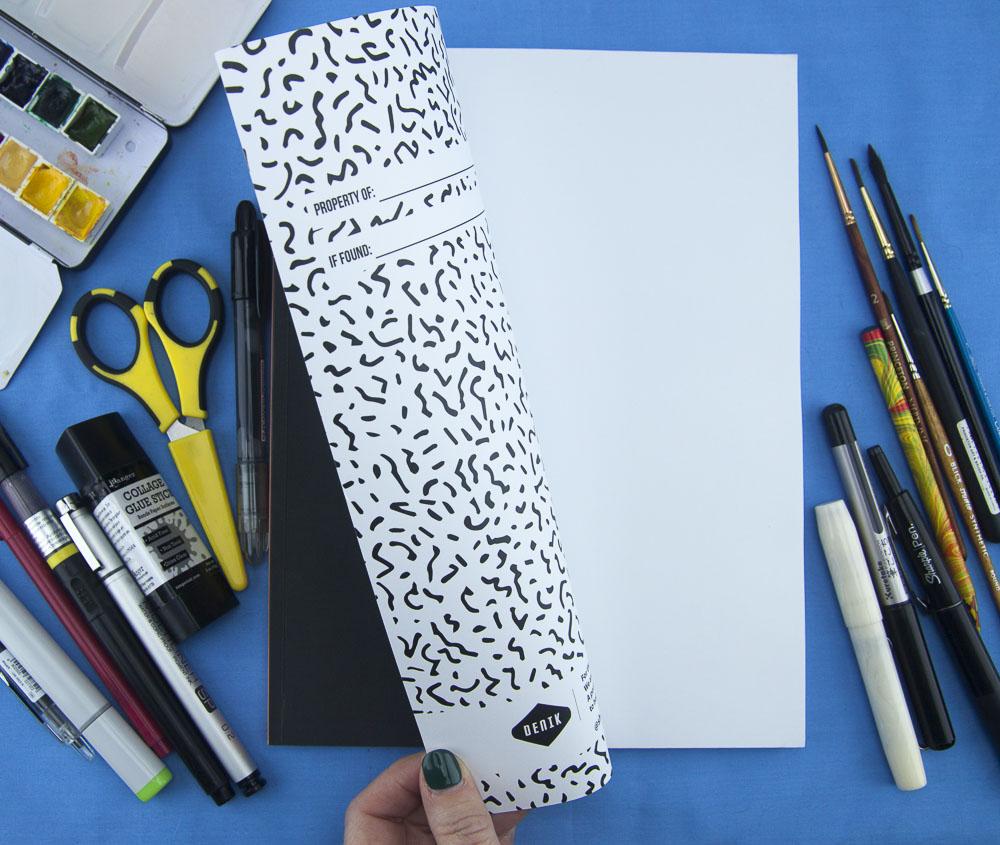 Denik Love Sketchbook inside