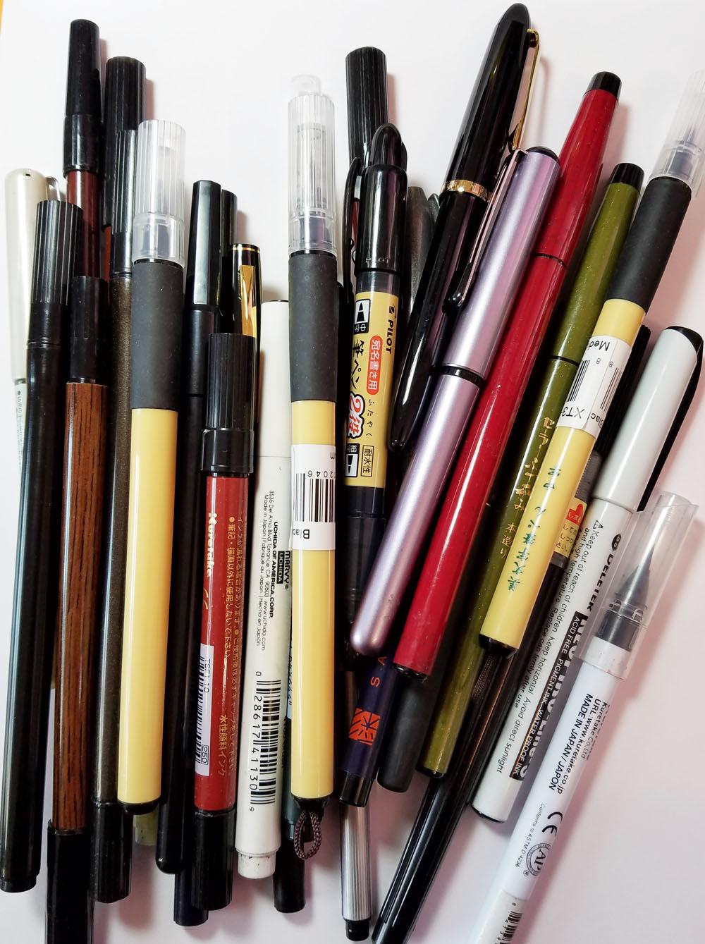 brush-pen-dump