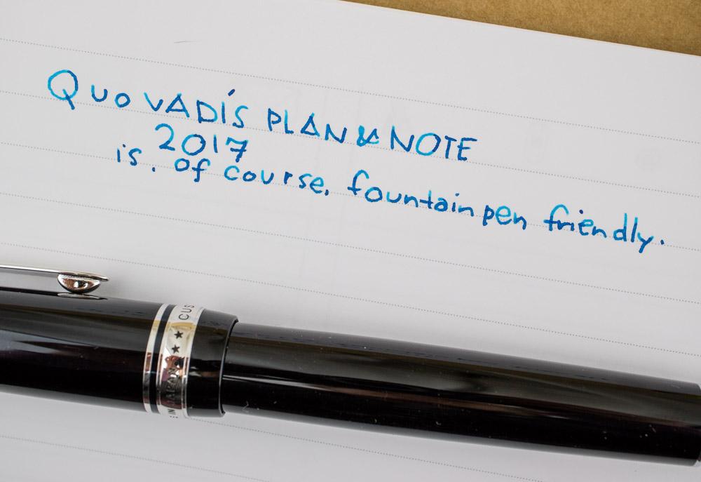 Quo Vadis Plan & Note 2017