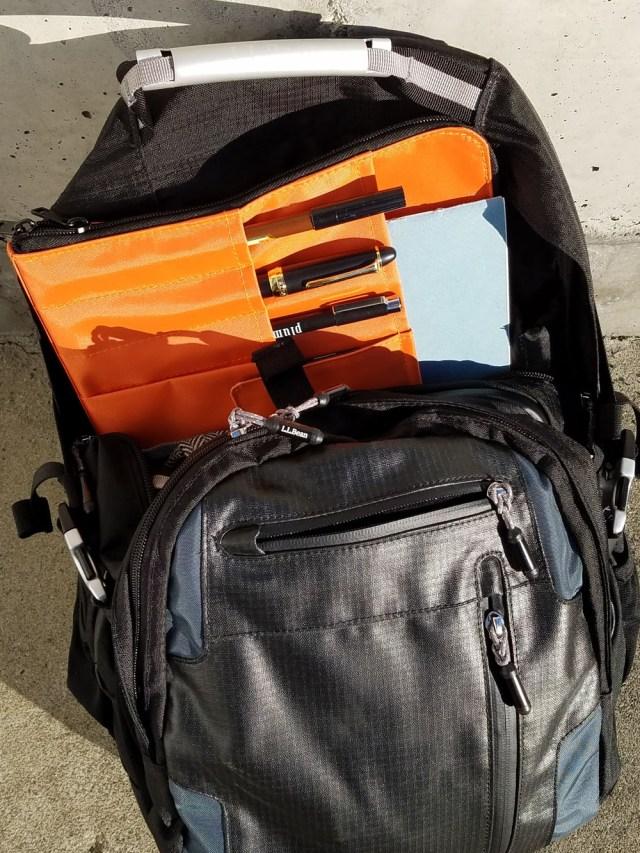 A4 Lihit Lab Teffa inside backpack