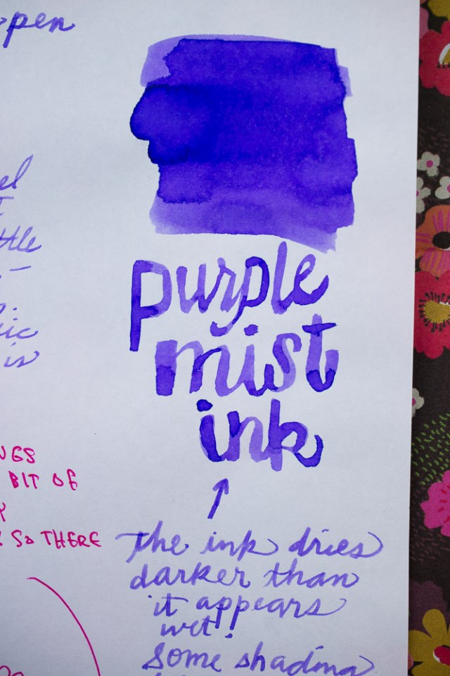 Monteverde Purple Mist Ink
