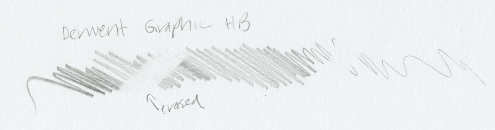 Derwent Graphic HB scribble