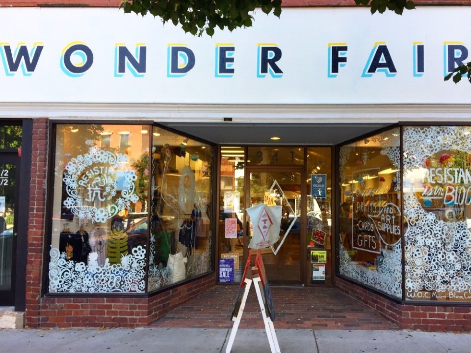 Wonderfair storefront