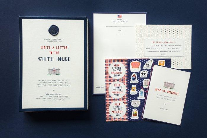 Mr. Boddington Letter to the White House Kit