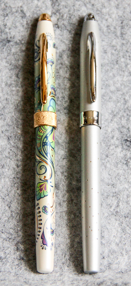 Cross Botanica and Starlite Fountain Pen with