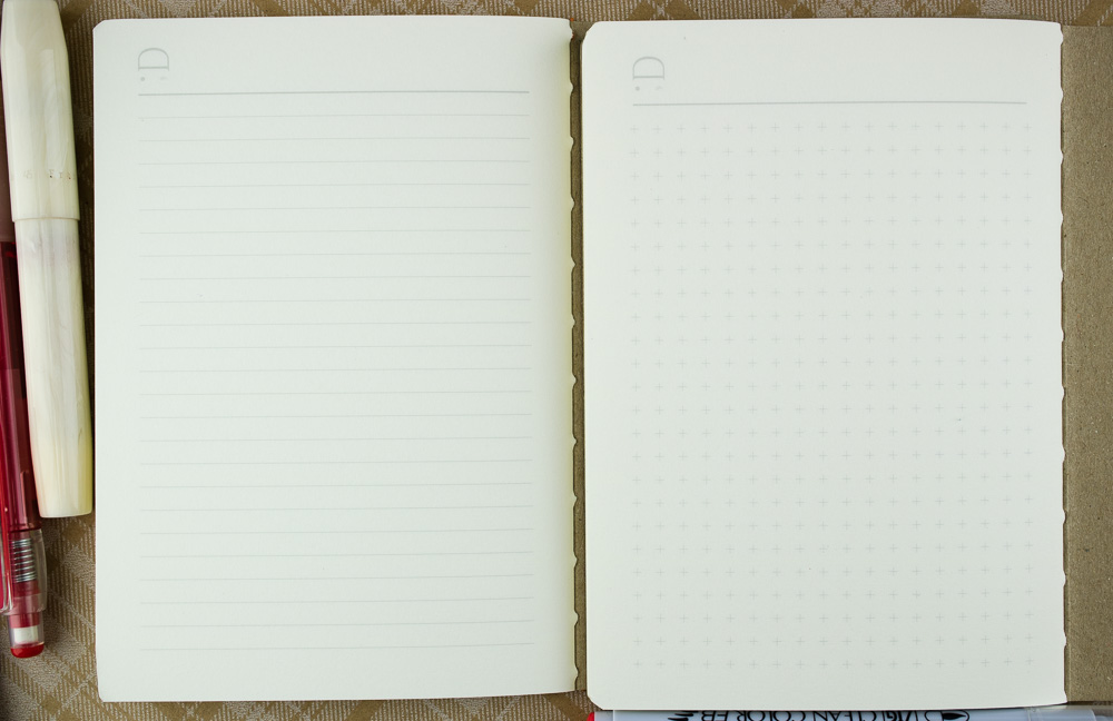 FlipFlop Pocket Notebooks inside paper