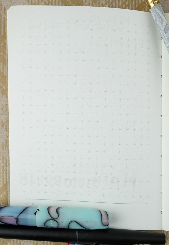 FlipFlop Pocket Notebooks bleed test