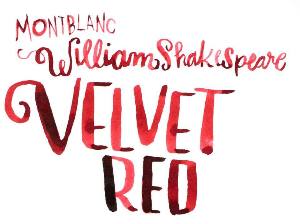 Montblanc Velvet Red