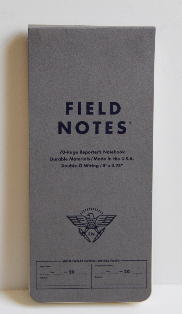 Field Notes Byline