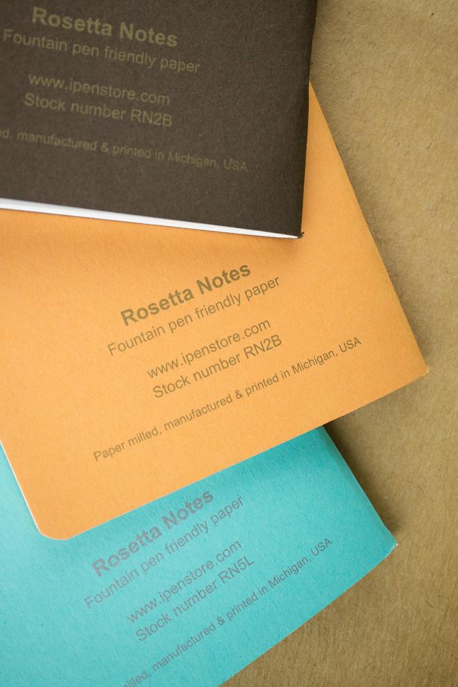Rosetta Notes Back Cover