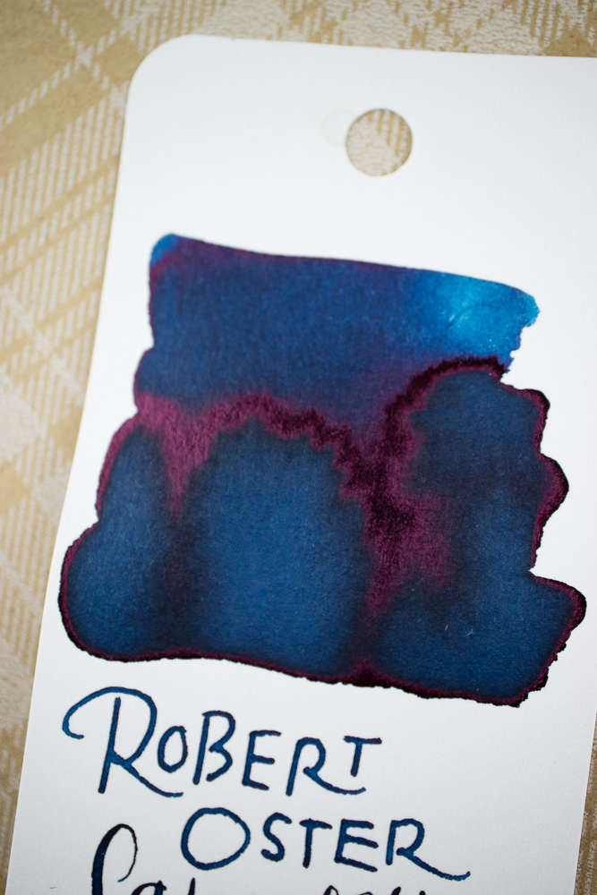 Ink Review: Robert Oster ink.art Lake of Fire and the Serendipity Hybrid Pen