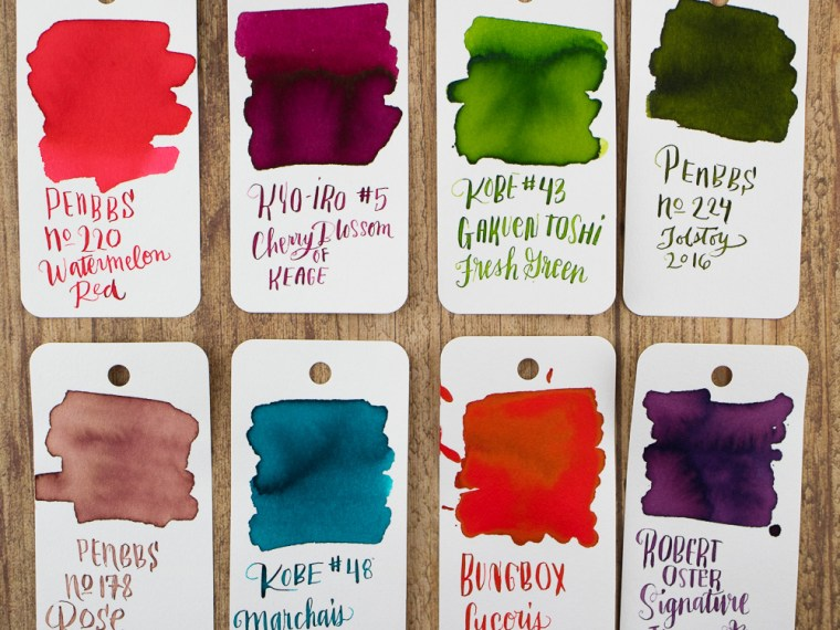Ink Love: All the Inks Fit to Print