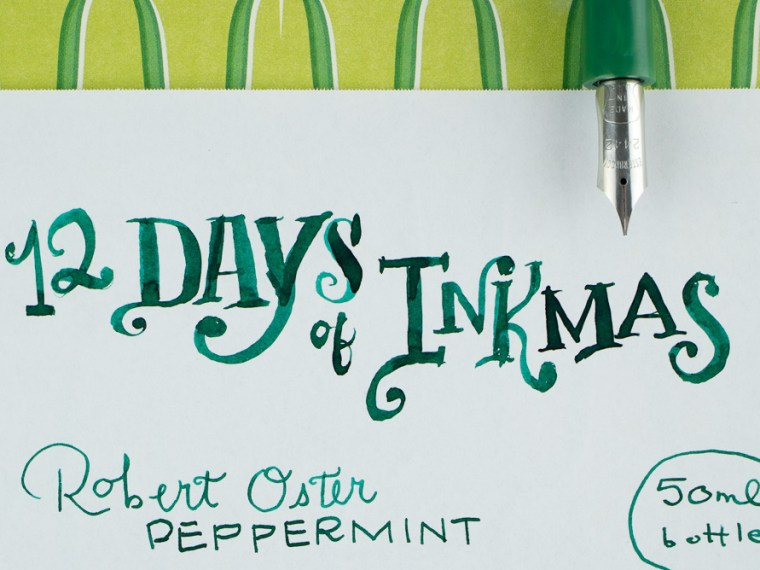 12 Days of Inkmas: Robert Oster Peppermint