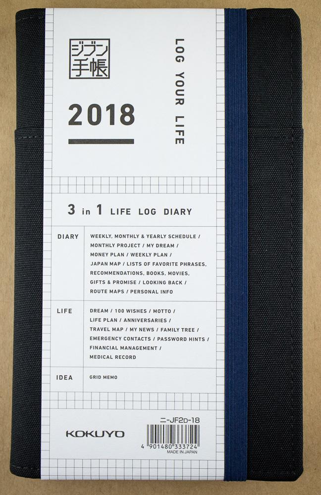Giveaway Winner: Jibun Techo 3-in-1 Life Log Diary A5 Slim
