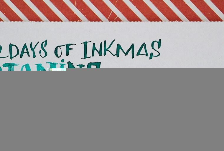 12 Days of Inkmas: Diamine Spearmint Diva